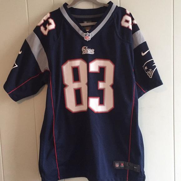 finest selection e0fde 030a4 NFL New England Patriots Welker Jersey big boy's L